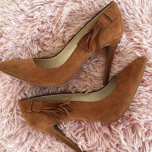 Size 10 Nine West Tan Heels